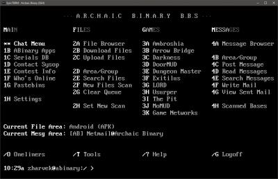 SSH   Telnet BBS Guide
