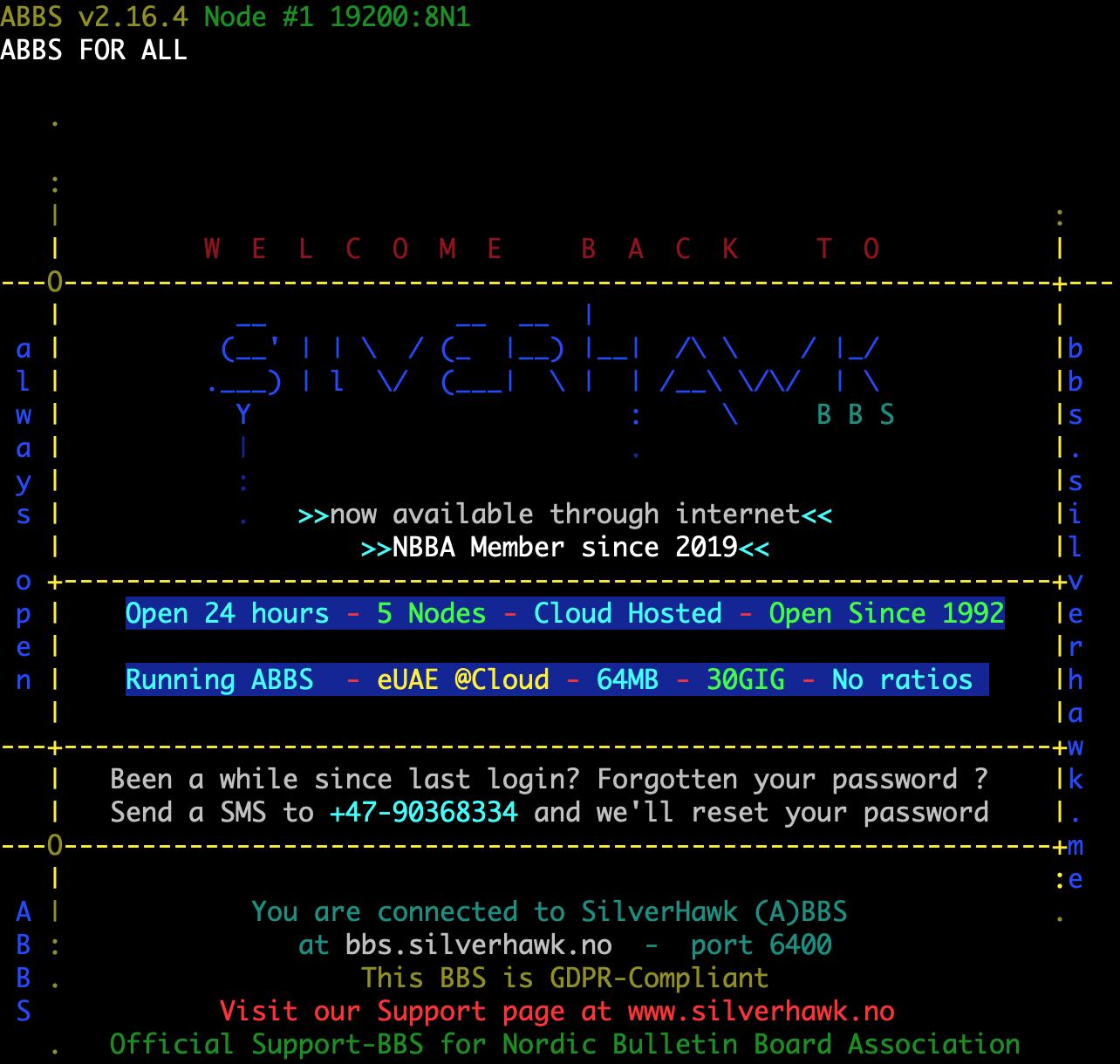silverhawk-bbs