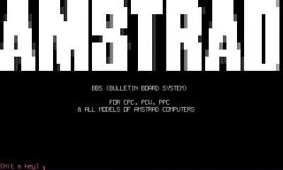 Amstrad BBS