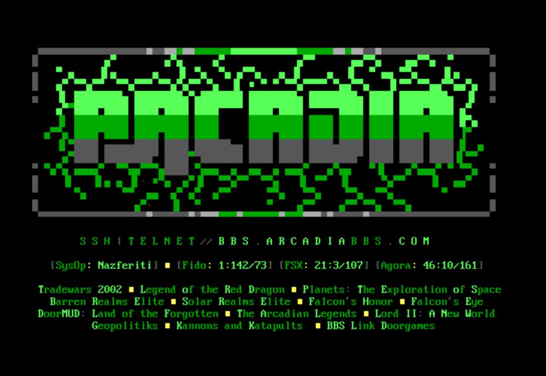 Arcadia BBS